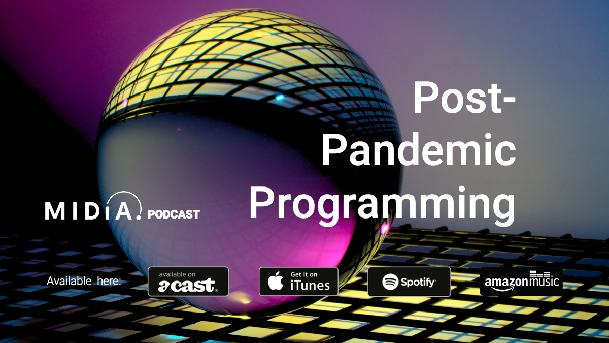 Cover image for MIDiA podcast launches with post-pandemic programming series