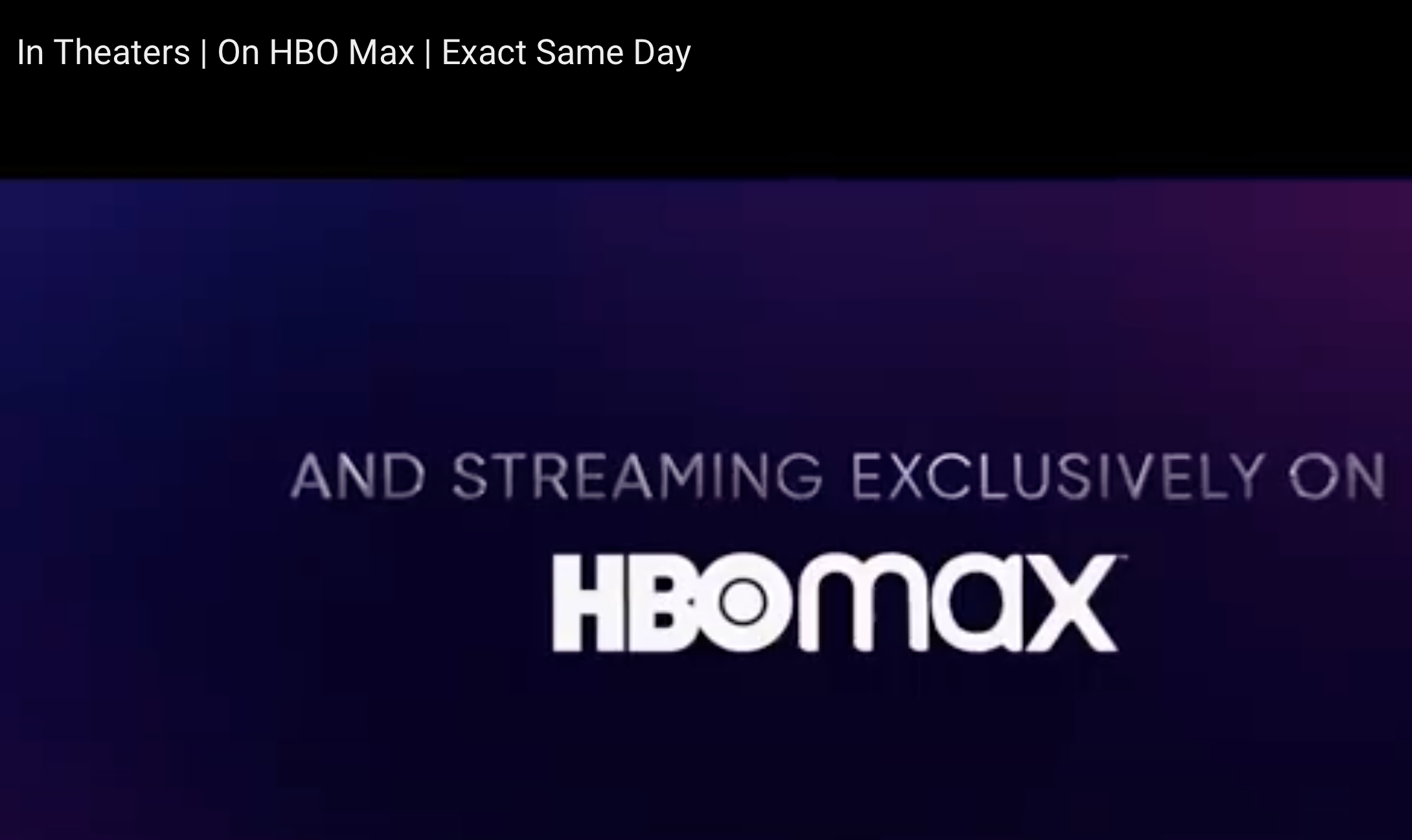Cover image for Blockbuster disruption comes to the streaming wars courtesy of HBO Max