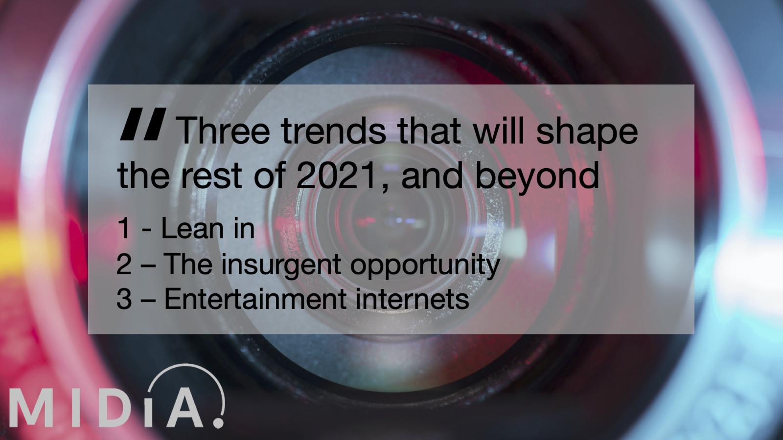 Cover image for Three trends that will shape the rest of 2021, and beyond