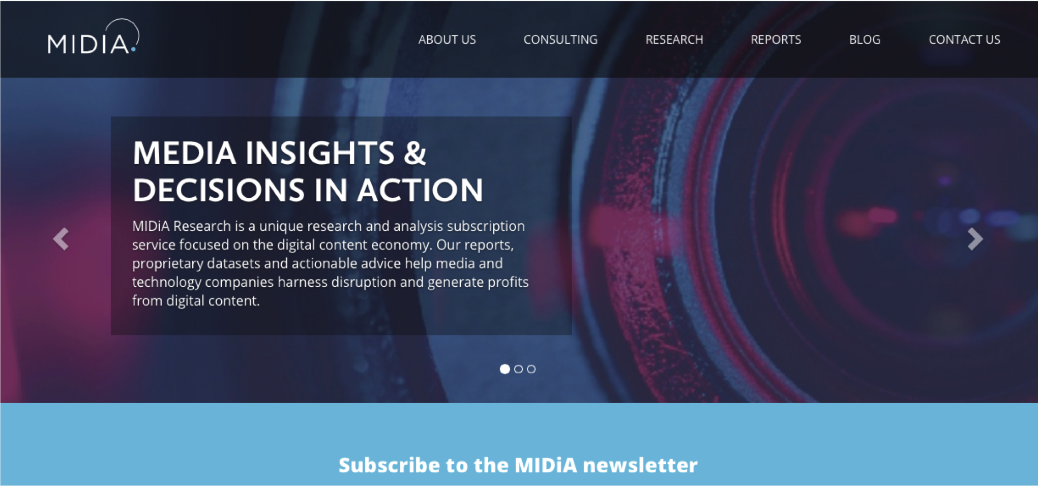 Cover image for Welcome To The New Look MIDiA Research