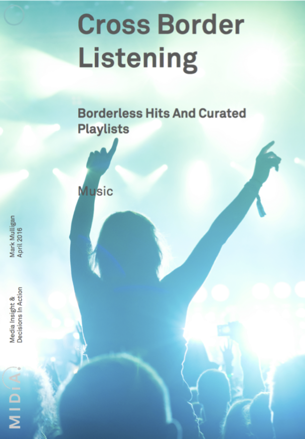 Cover image for Free Report - Cross Border Listening: Borderless Hits And Curated Playlists