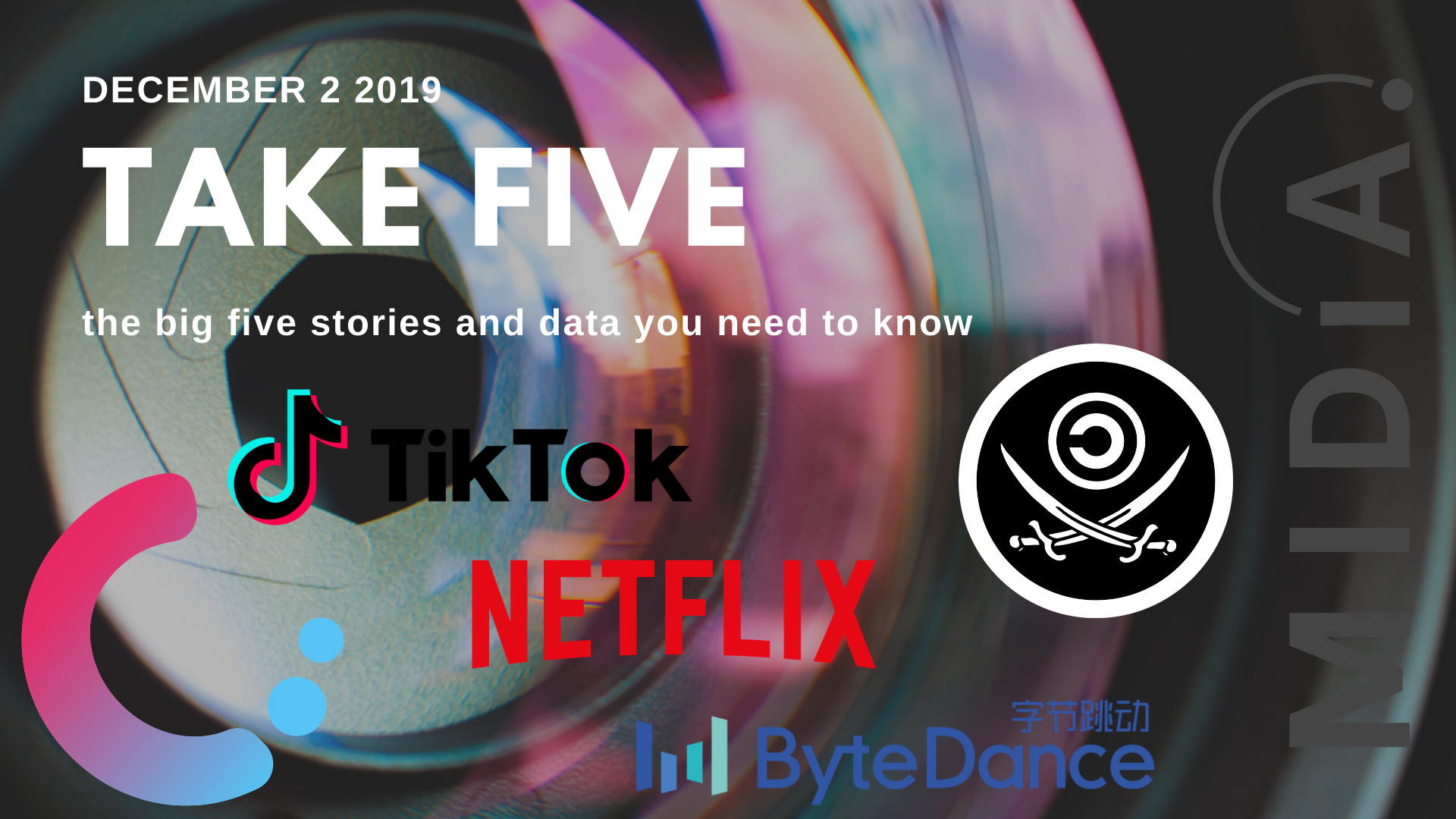 Cover image for Take Five (the big five stories and data you need to know) December 2nd 2019
